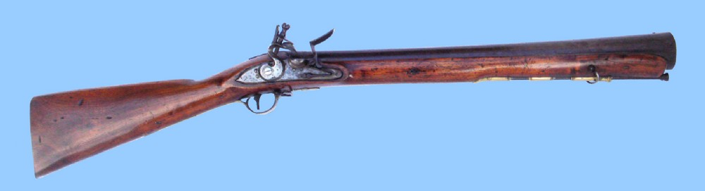 antique gun english iron barrel flintlock musketoon blunderbuss