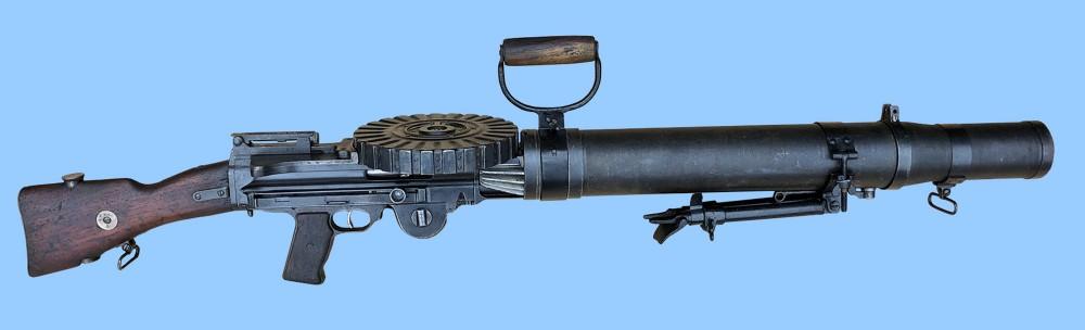 very rare 303 bsa model 1914 lewis gun