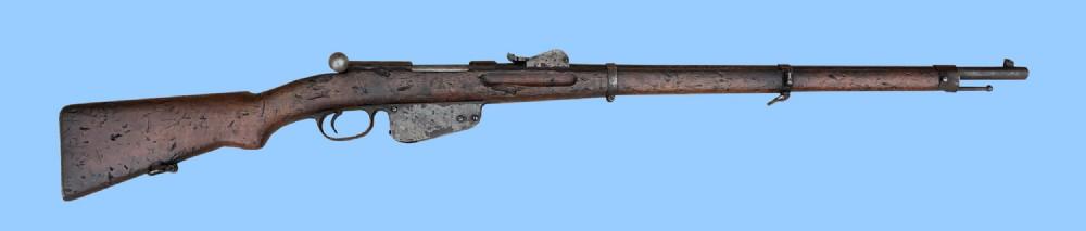 antique gun austrian mannlicher 1886 rifle for restoration