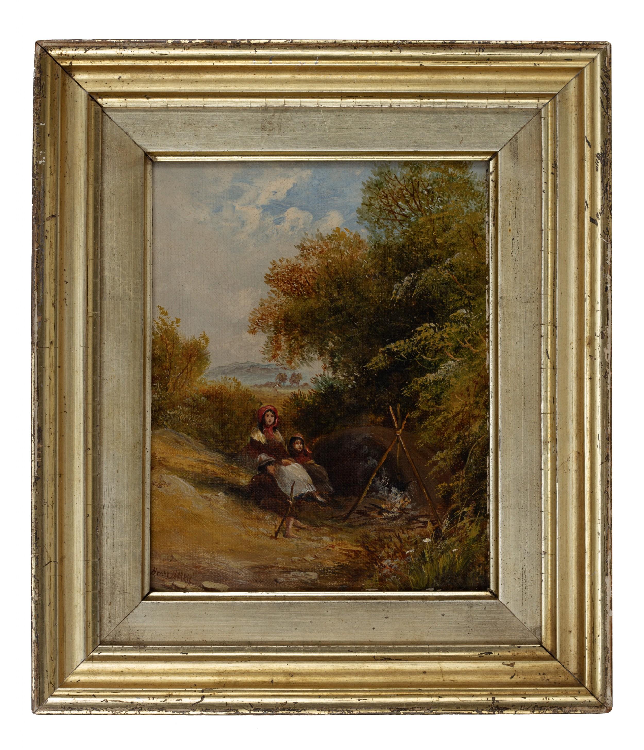henry harris of bristol 1852 1926oil on canvas