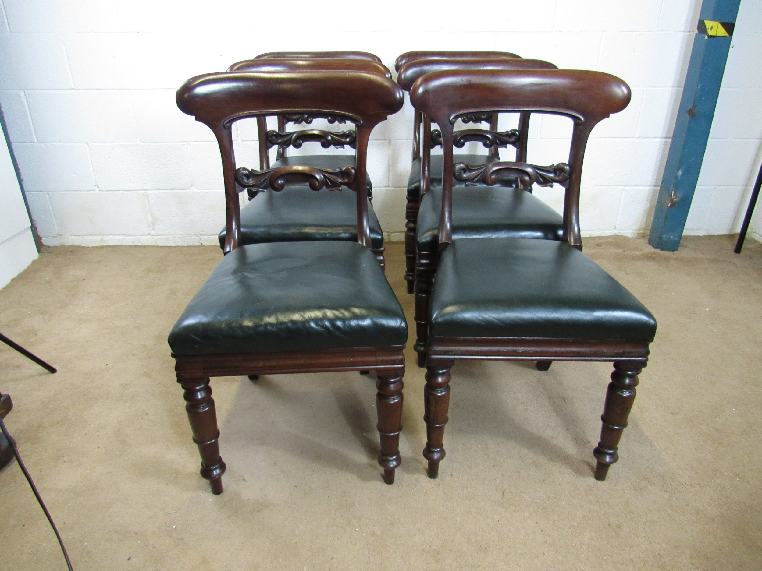 superb set of 6 chairs