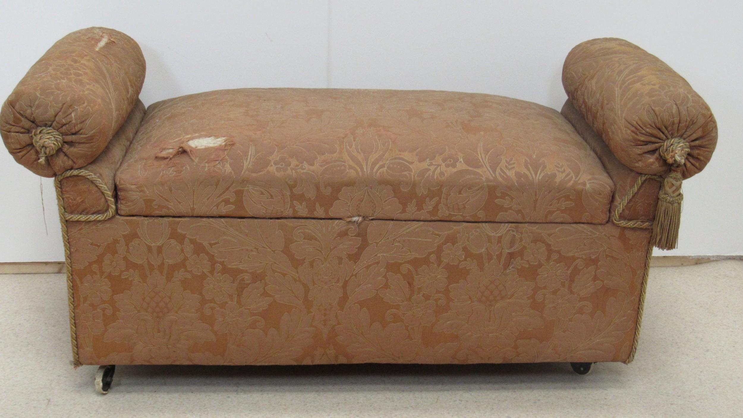unusual large ottoman