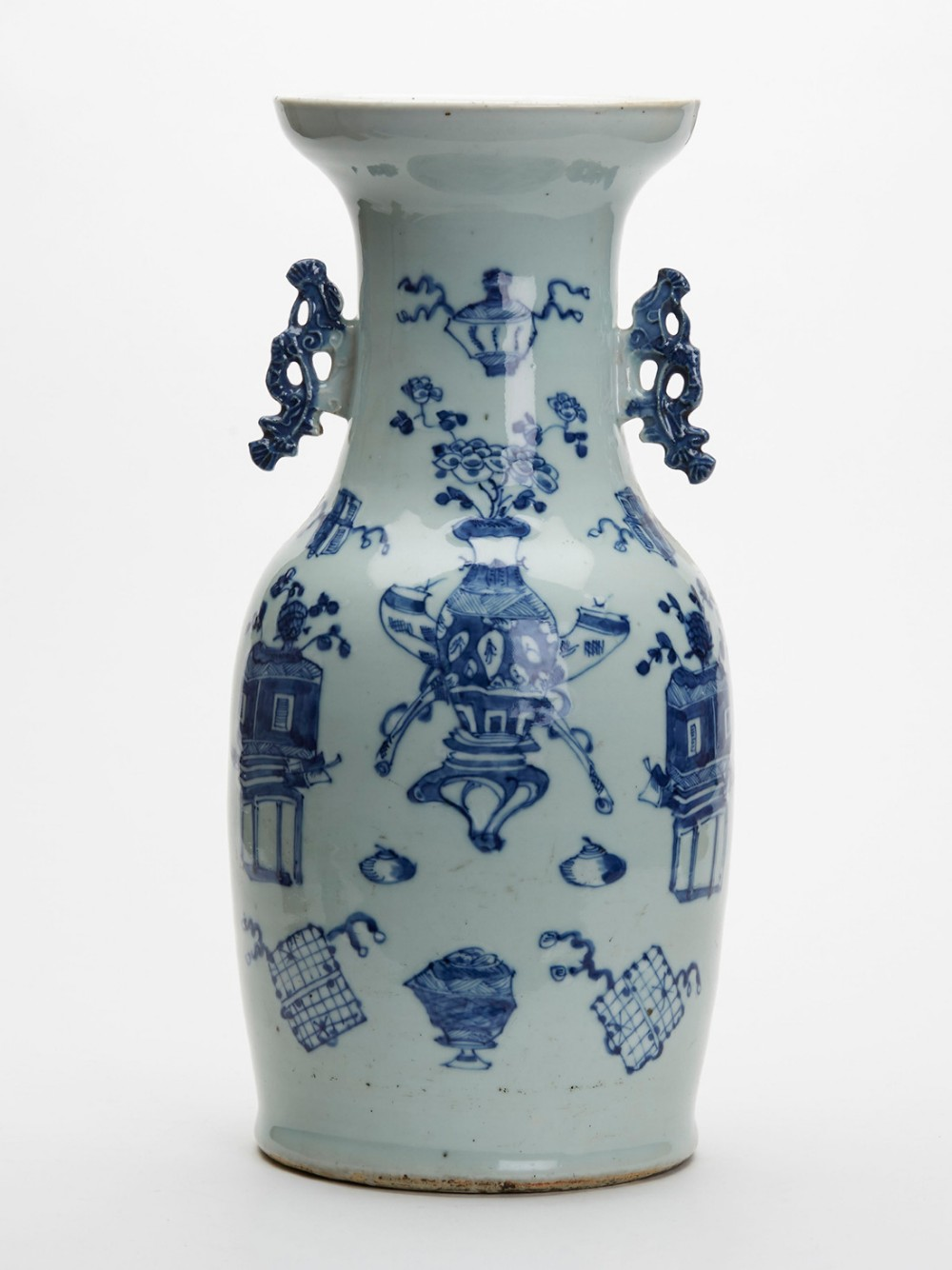 Antique chinese vases the uks largest antiques website xupes limited small chinese dark blue vase reviewsmspy
