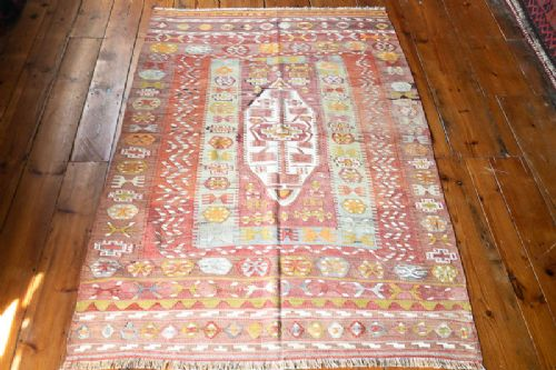 turkish antique selendi kilim c 1920s
