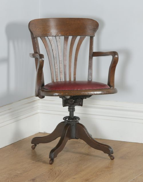 Antique Oak Office Chairs The Uk S Largest Antiques Website