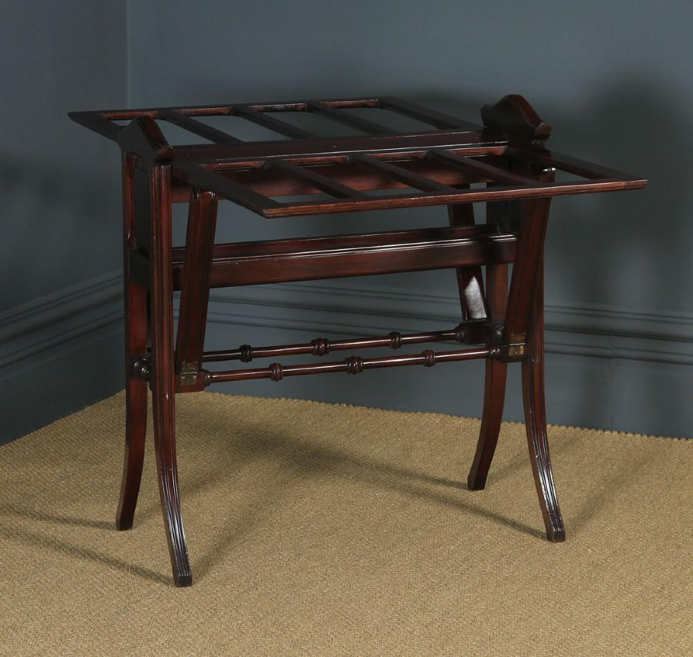 antique english victorian mahogany folding folio table stand circa 1890