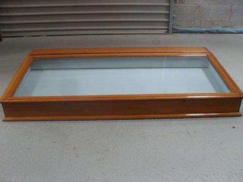 victorian mahogany table top display case | 136959 | sellingantiques