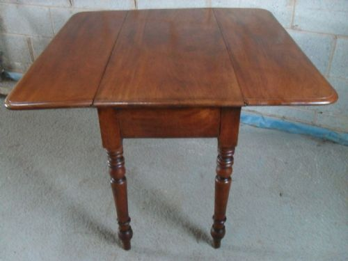 Victorian Mahogany Drop Leaf Dining Pembroke Table With  : dealerynotfull1348085995148 4155960587 from www.sellingantiques.co.uk size 500 x 375 jpeg 23kB
