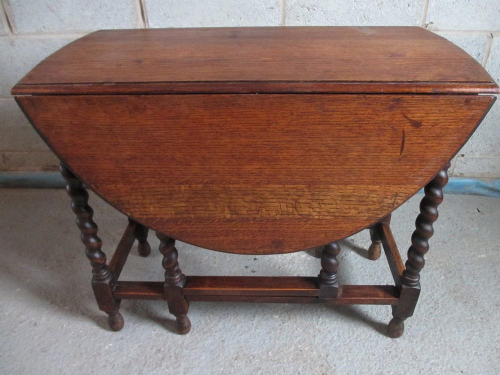 Oak Barley Twist Oval Gateleg Drop Leaf Dining Table  : dealerynothighres1377088075102 3135743598 from www.sellingantiques.co.uk size 1000 x 750 jpeg 158kB