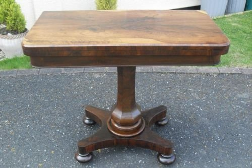 victorian rio rosewood card table
