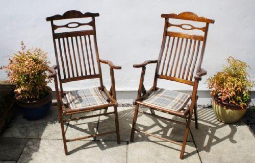 Antique Steamer Chairs - Antique Steamer Chairs - The UK's Largest Antiques Website