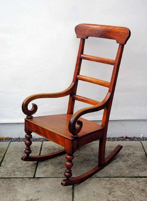 Phenomenal Antique Rocking Chairs The Uks Largest Antiques Website Beatyapartments Chair Design Images Beatyapartmentscom