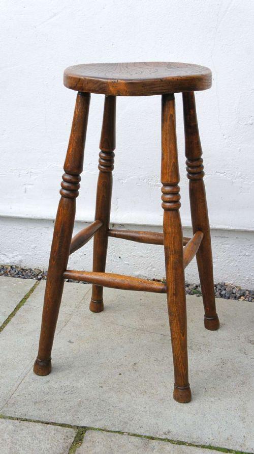 victorian elm beech farmhouse kitchen stool