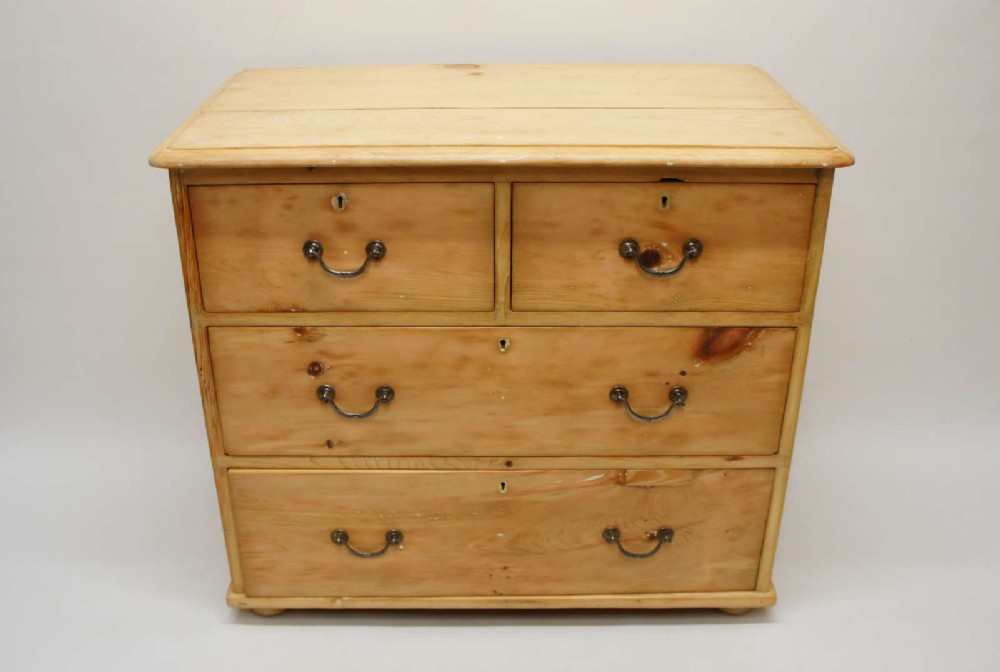 small victorian pine chest of drawers refurbished rustic