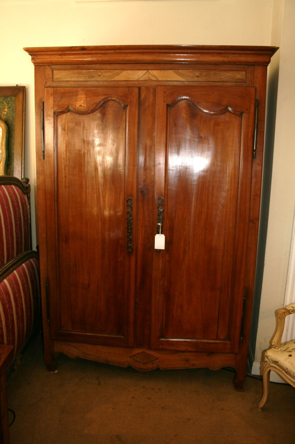 Cherry Wood Armoire Wardrobe 299888 Sellingantiques Co Uk