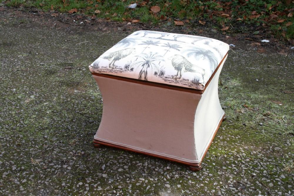 victorian ottoman box