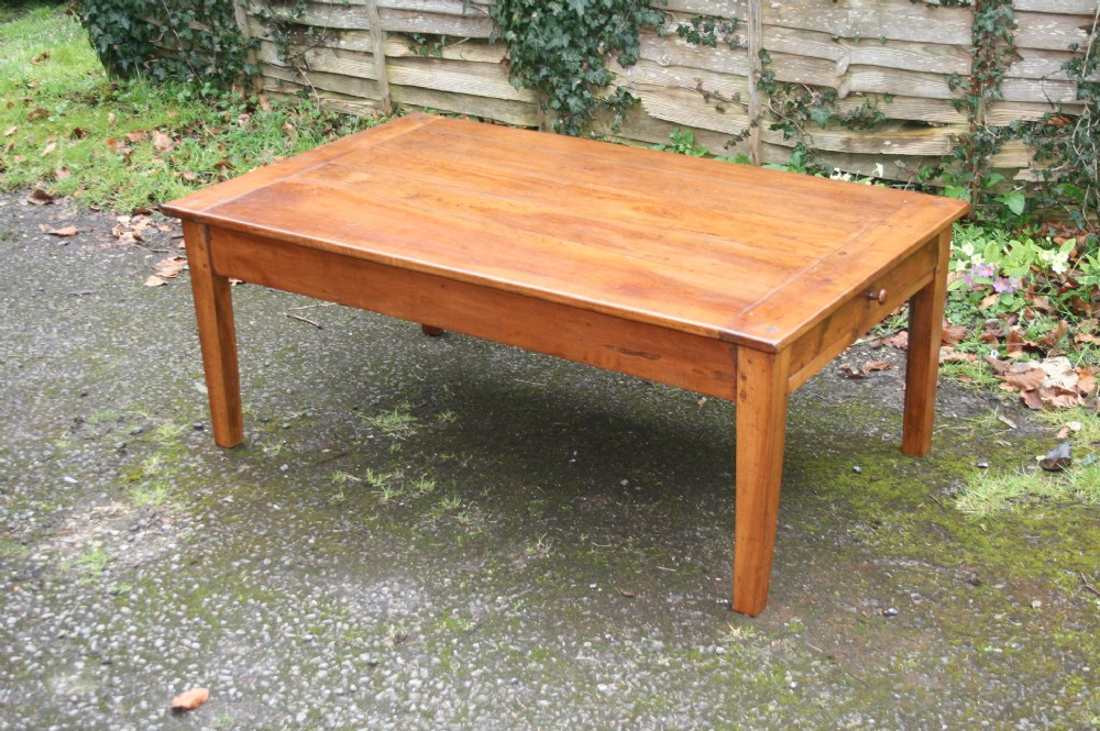 Solid Cherry Wood Coffee Table 537479 Sellingantiques Co Uk